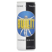 Bullit Energiedrank Regular voorkant