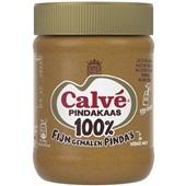 Calvé 100% pindakaas voorkant