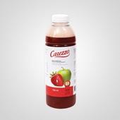 Carezzo appel-aardbeisap voorkant
