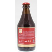 Chimay Trappist Speciaalbier Rood Fles 33 Cl achterkant