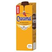 Chocomel 0% suiker achterkant