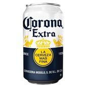Corona blikje voorkant