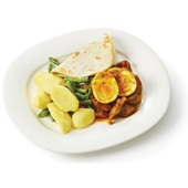 Culivers (11) Kiproti met aardappelen, boontjes en een gekookt eitje  voorkant