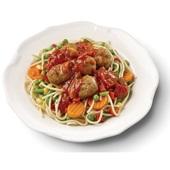Culivers (19) spaghetti met gehaktballetjes in kruidige tomatensaus voorkant