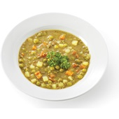 Culivers (20) Maaltijdsoep met rundergehakt, erwten, wortel en aardappel  voorkant