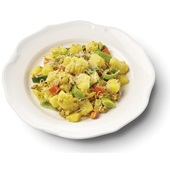 Culivers (7) gehaktschotel met aardappel, bloemkool, prei en kerrie  voorkant