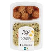 Daily Chef andijvie stamppot met gehaktballetjes voorkant