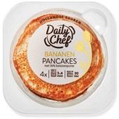 Daily Chef bananen pancakes volkoren voorkant