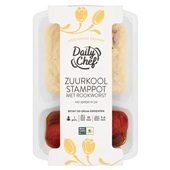 Daily Chef zuurkoolstamppot voorkant