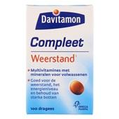 Davitamon Vitaminen En Mineralen Compleet Weerstand voorkant