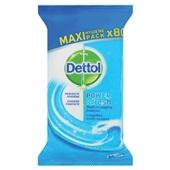 Dettol schoonmaakdoekjes power & fresh voorkant