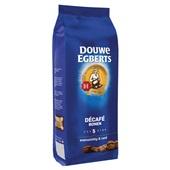 Douwe Egberts koffiebonen decafé  achterkant