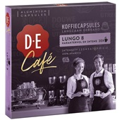 Douwe Egberts koffiecapsules café lungo 8 voorkant