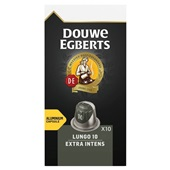 Douwe Egberts koffiecapsules  lungo extra intens voorkant
