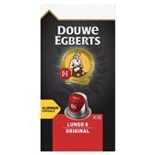 Douwe Egberts koffiecapsules lungo original voorkant