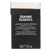 Douwe Egberts koffiecapsules lungo original achterkant