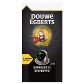 Douwe Egberts koffiecapsules ristretto voorkant