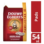 Douwe Egberts koffiepads aroma rood achterkant