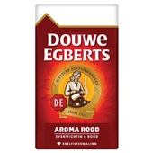 Douwe Egberts snelfilterkoffie aroma rood voorkant