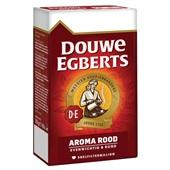 Douwe Egberts snelfilterkoffie aroma rood achterkant
