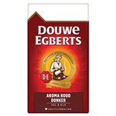 Douwe Egberts snelfilterkoffie aroma rood donker voorkant