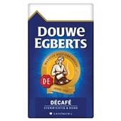 Douwe Egberts snelfilterkoffie decafé voorkant