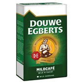Douwe Egberts snelfilterkoffie mildcafé achterkant