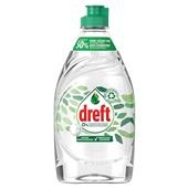 Dreft afwasmiddel pure & clean voorkant