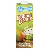 DubbelDrank Vruchtensap Mango Guanabana voorkant