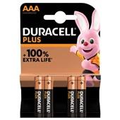 Duracell batterijen alkaline plus AAA voorkant