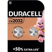 Duracell knoopcel batterij 2032 voorkant