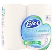 Edet toiletpapier Family Comfort 3-Laags extra large achterkant