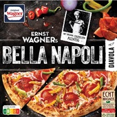 Ernst Wagner pizza Bella Napoli diavola voorkant