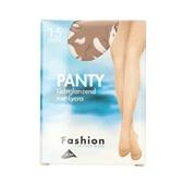 Fashion panty lichtglanzend teint maat 40-44, 15 denier voorkant
