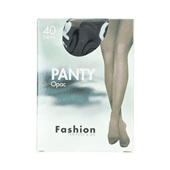 Fashion Panty opaque zwart maat 36-40, 40 denier voorkant