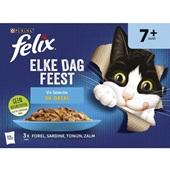 Felix Elke dag feest vis selectie gelei voorkant
