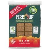 Fire Up Aanmaakblokjes Bruin voorkant