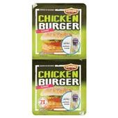 Flemmings Flemmings chickenburger heinz 2 stuks voorkant
