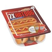 Flemmings hotdogs Heinz achterkant