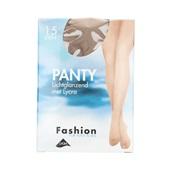 Foot-Leg panty lichtglanzend natuur maat 36-40, 15 denier voorkant