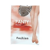 Foot-Leg panty mousse wineblush maat 36-40, 20 denier voorkant