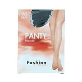 Foot-Leg panty mousse zwart maat 40-44, 20 denier voorkant