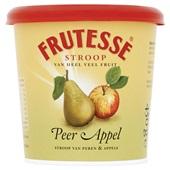 Frutesse Fruitstroop Peer Appel voorkant