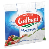 Galbani Mozzarella achterkant