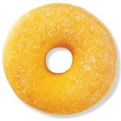Gesuikerde donut voorkant