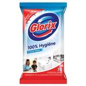 Glorix allesreiniger hygiënische doekjes ocean fresh voorkant