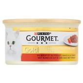Gourmet Gold Kattenvoer Cassolettes rund voorkant