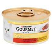 Gourmet Gold Kattenvoer Cassolettes rund achterkant