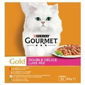 Gourmet Kattenvoer Luxe Mix voorkant