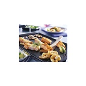 gourmet vis menu met bakplaat p.p. voorkant